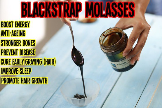 blackstrap molassas